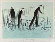 Mackenzie Thorpe (b. 1956) 'Life in the Land' 439/850
