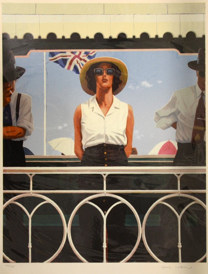 Jack Vettriano (b.1951) 'Bird on the Wire' limited