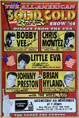 Solid Gold Rock N Roll 98 signed concert poster by