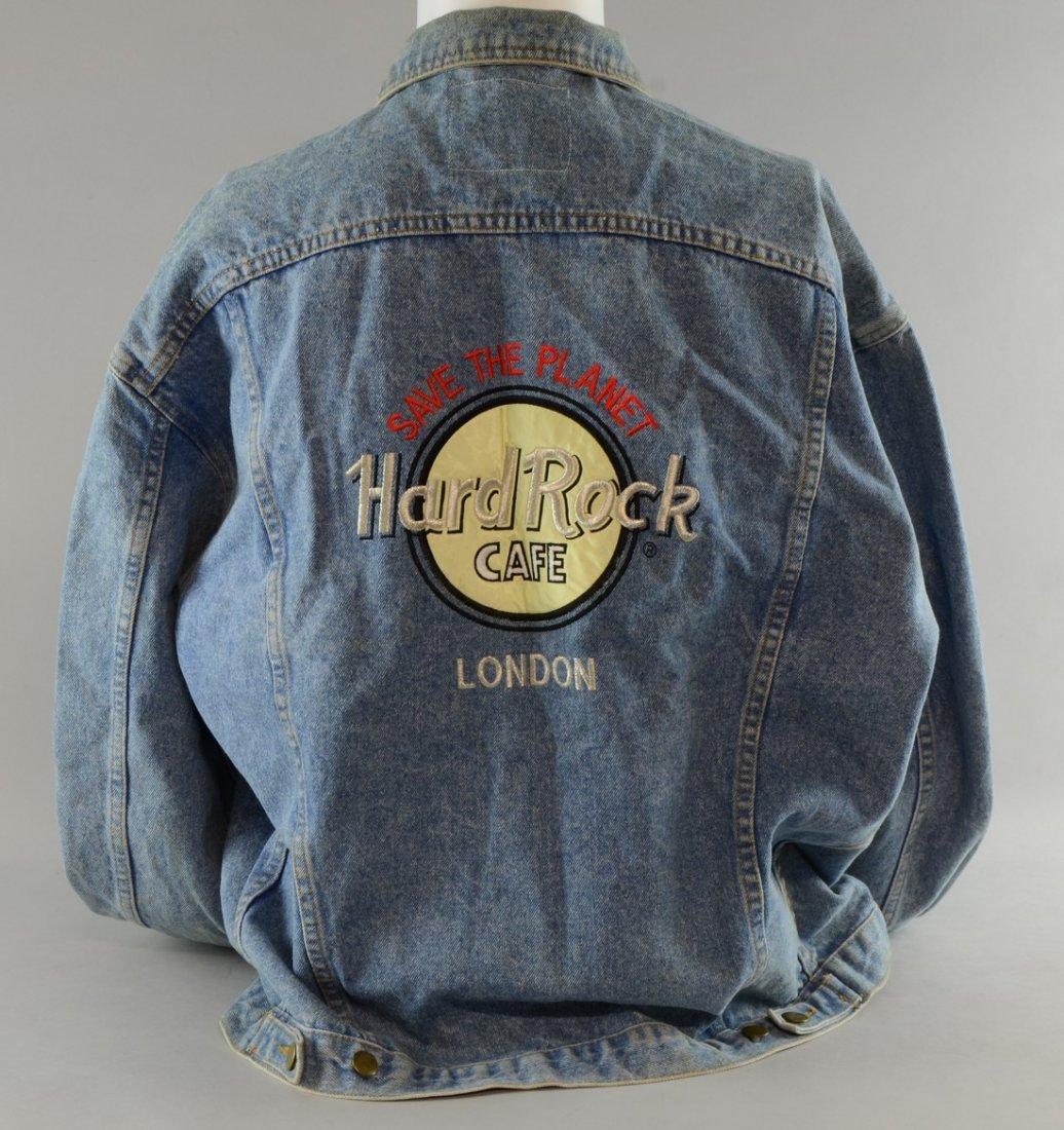 Hard Rock Cafe, London, Save The Planet, Denim Jacket,