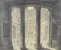 Veduta interna del Panteon (View inside the Pantheon),