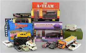Small selection of modern die cast cars most boxed to