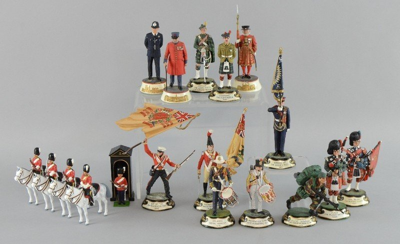 Britains Toy Soldiers reproduction 'Scots Greys' in