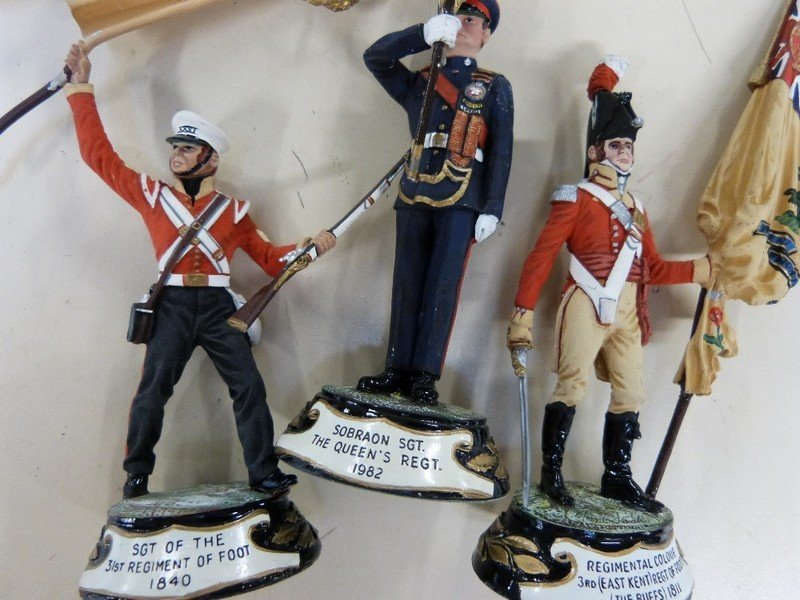 Britains Toy Soldiers reproduction 'Scots Greys' in - 3