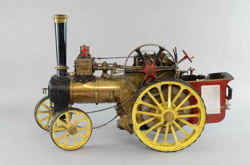 Scratch built Burrell traction engine, 1.5inch scale