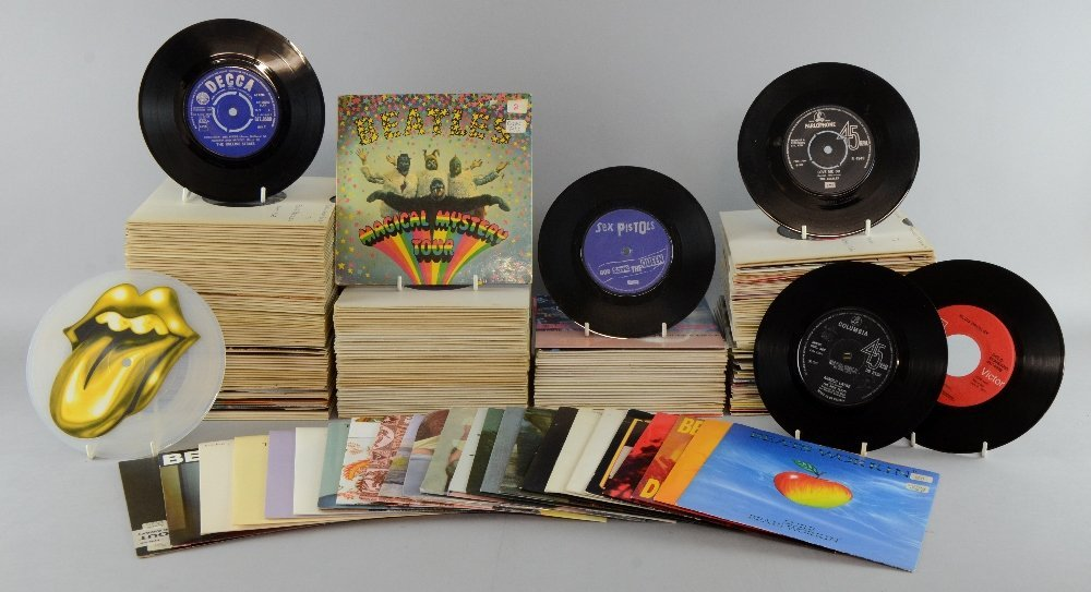 A lifetime's collection of over 27,000 45rpm vinyl