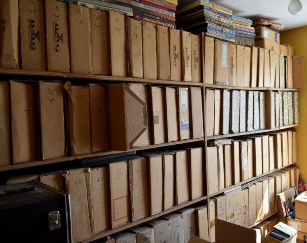A lifetime's collection of over 8,000 12 inch vinyl