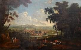 Continental School 18th Century oil on canvas