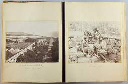 Two 19th and early 20th century photograph albums one