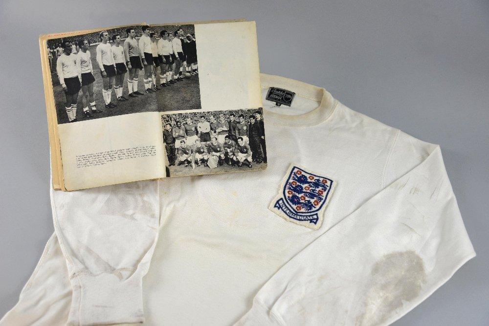 Bobby Moore match worn England Shirt, with Intermediate - 2