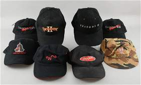 Eight Production baseball caps gifted to Sir