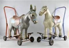 Two Triang ride on push along childs toys