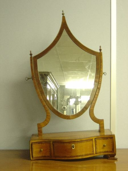 7: Late 19th century satinwood, rosewood and