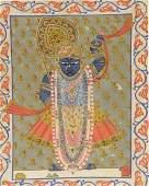 Late 19th century Indian miniature painting, Nathdwara,