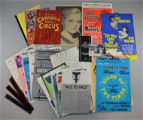 Large collection of film ephemera including The Pumpkin