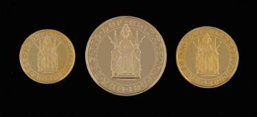500th Anniversary 14891989 gold proof s