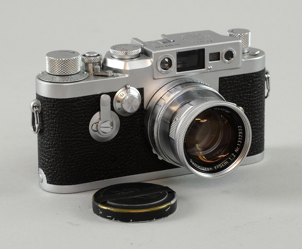 Leica DBP Ernst Leitz GMBH Wetzlar Camera, serial