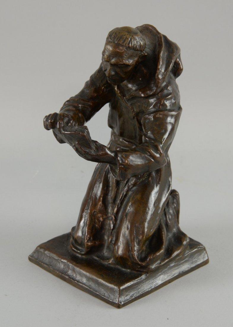Louis McClellan Potter (1873-1912), monk reading, 1911,