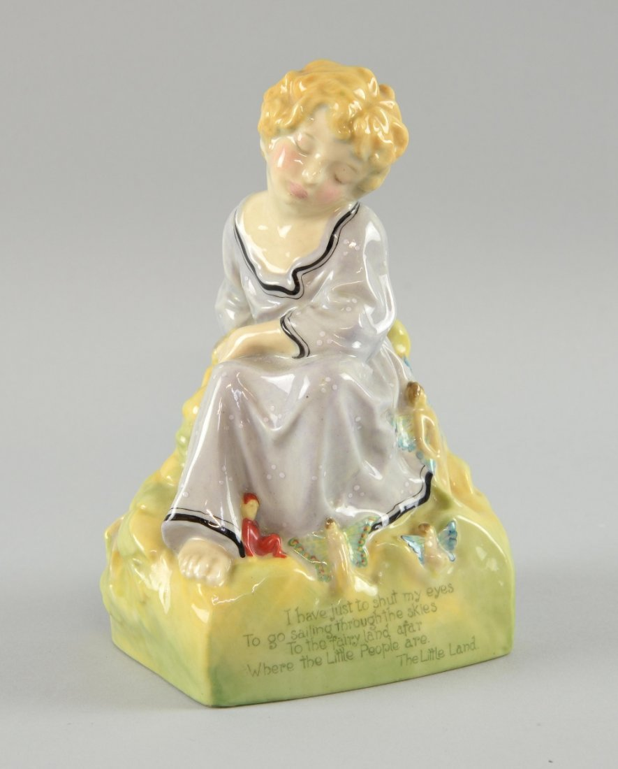 The Little Land` a rare Royal Doulton figure, designed