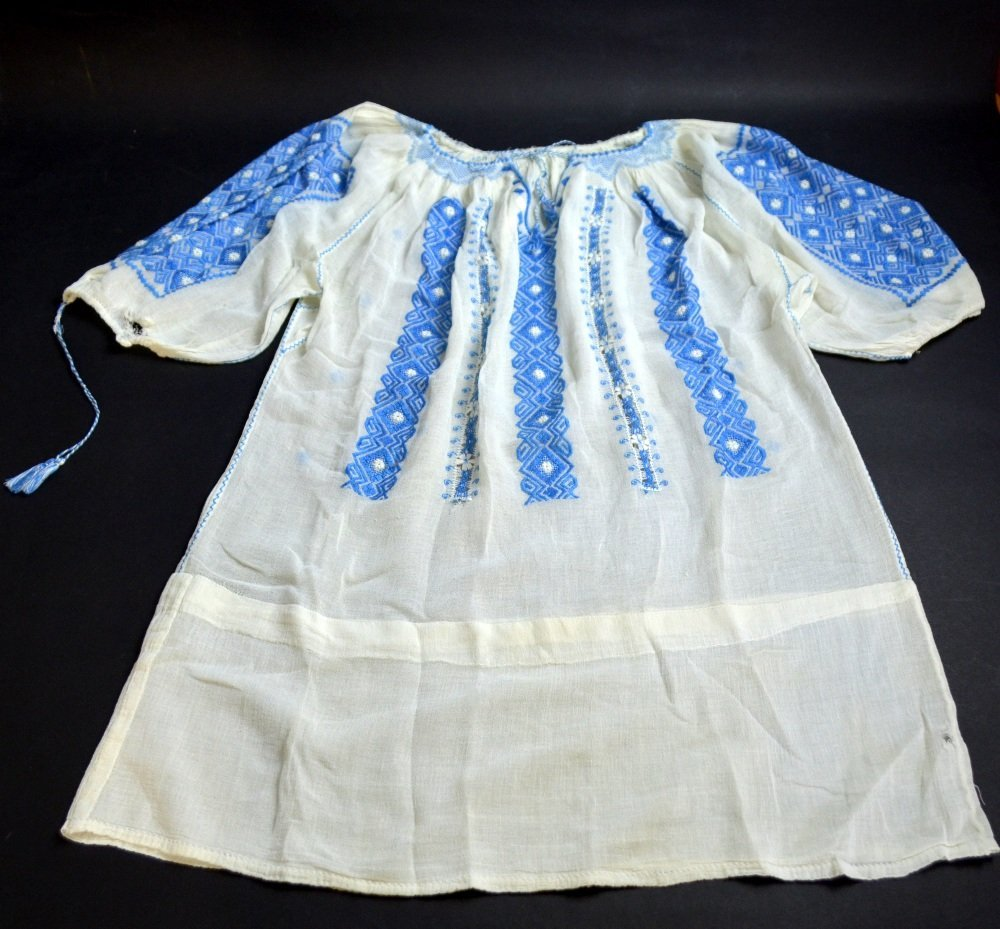 19th C Romanian jacket, extensively embroidered with - 2