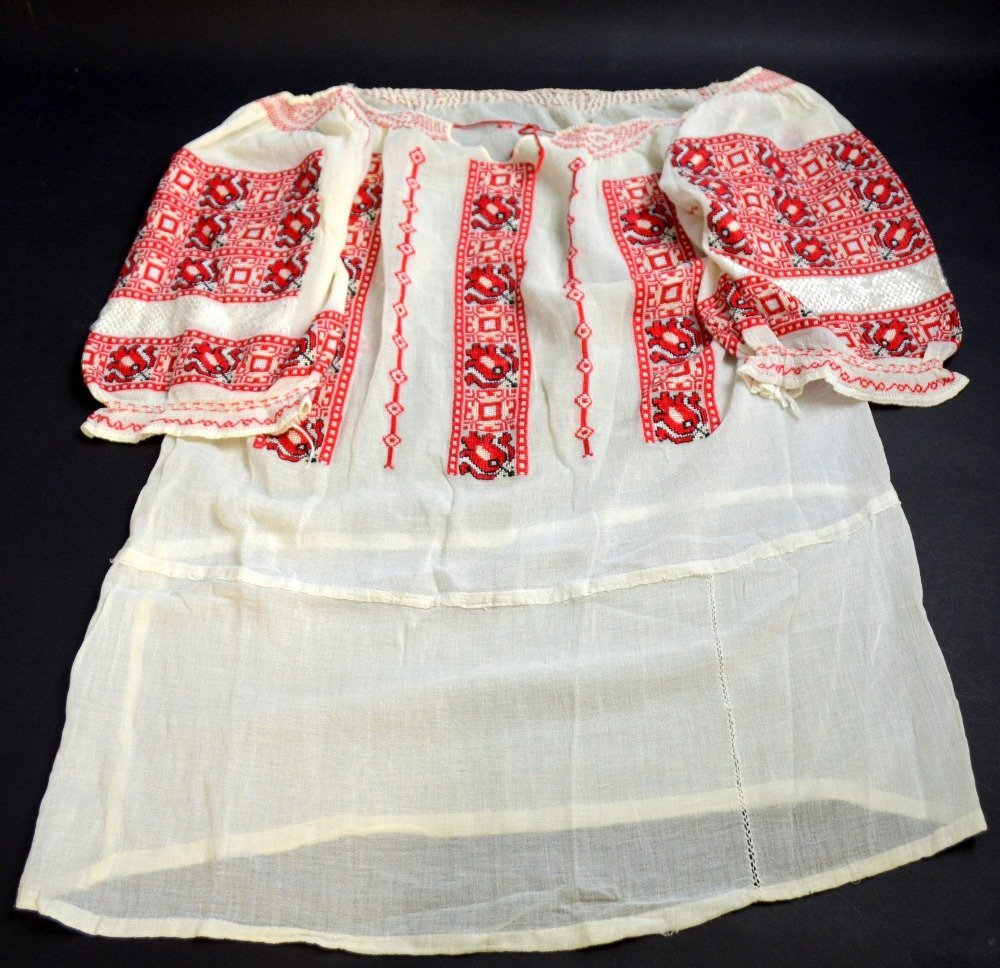 19th C Romanian jacket, extensively embroidered with - 3