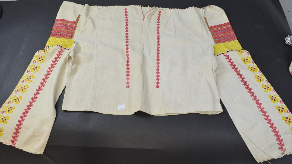 Four traditional Romanian blouses, late 19th to early - 2