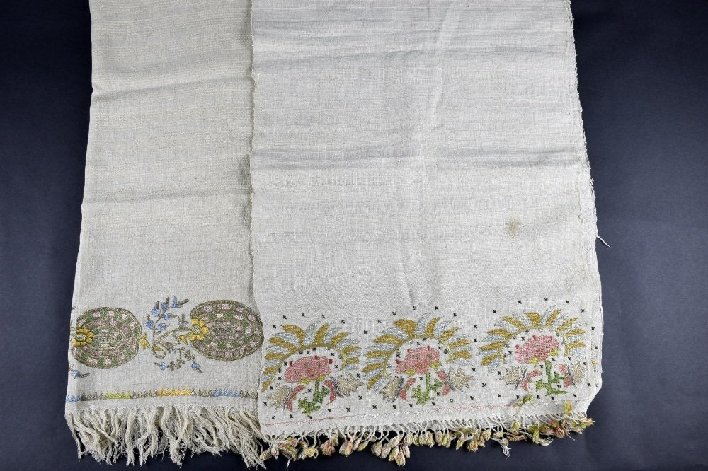 Two Ottoman period  towels from Greek Islands Mitylene, - 2