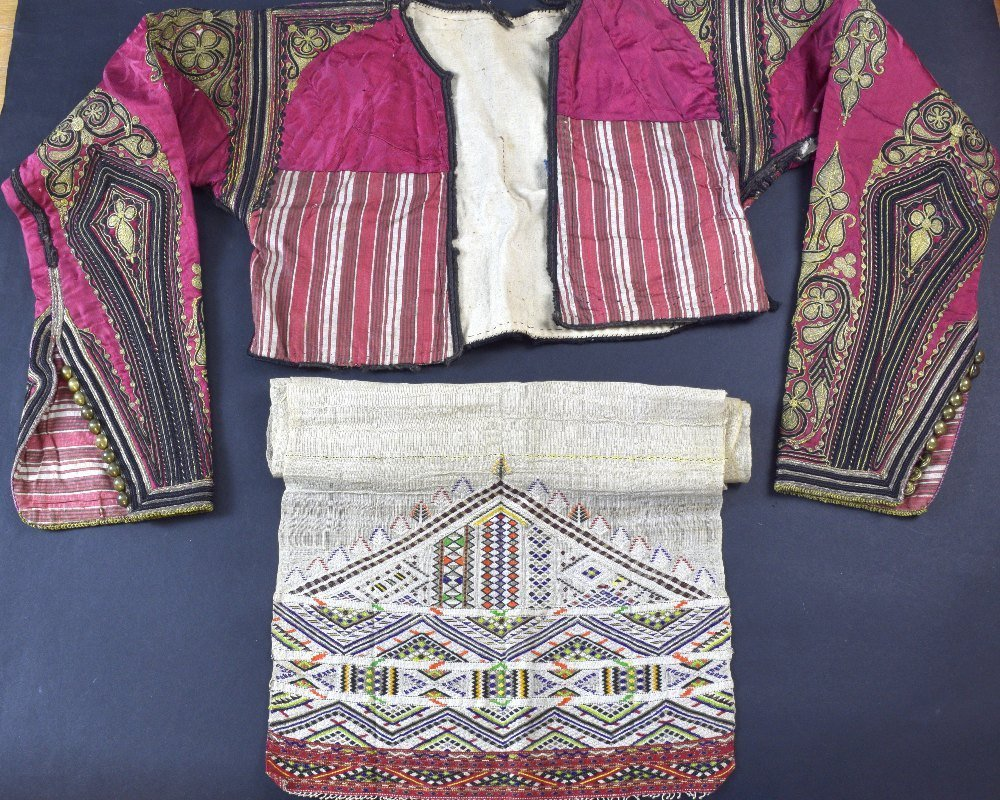Group of 19th century Albanian items, including a short