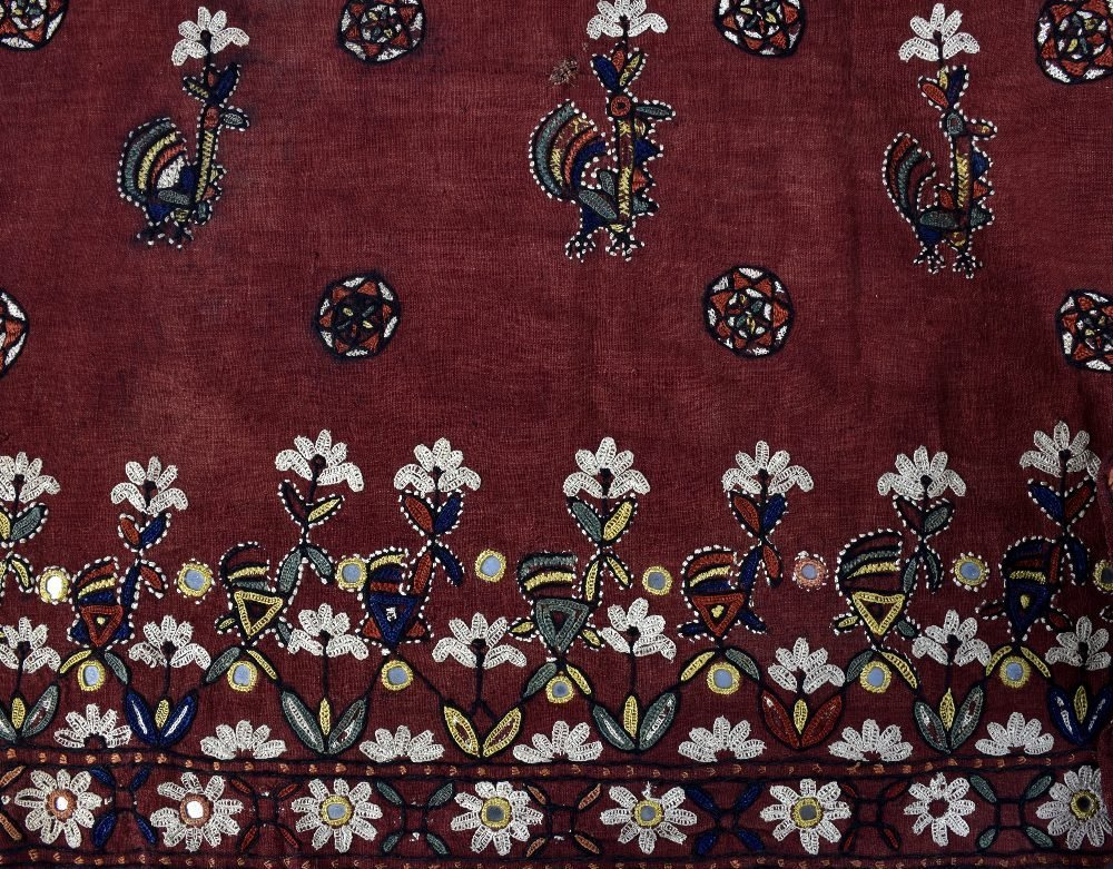 A large Indian wall hanging,  probably Rajasthan, first