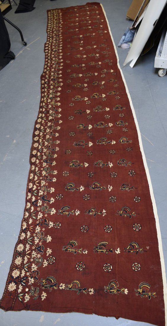 A large Indian wall hanging,  probably Rajasthan, first - 2