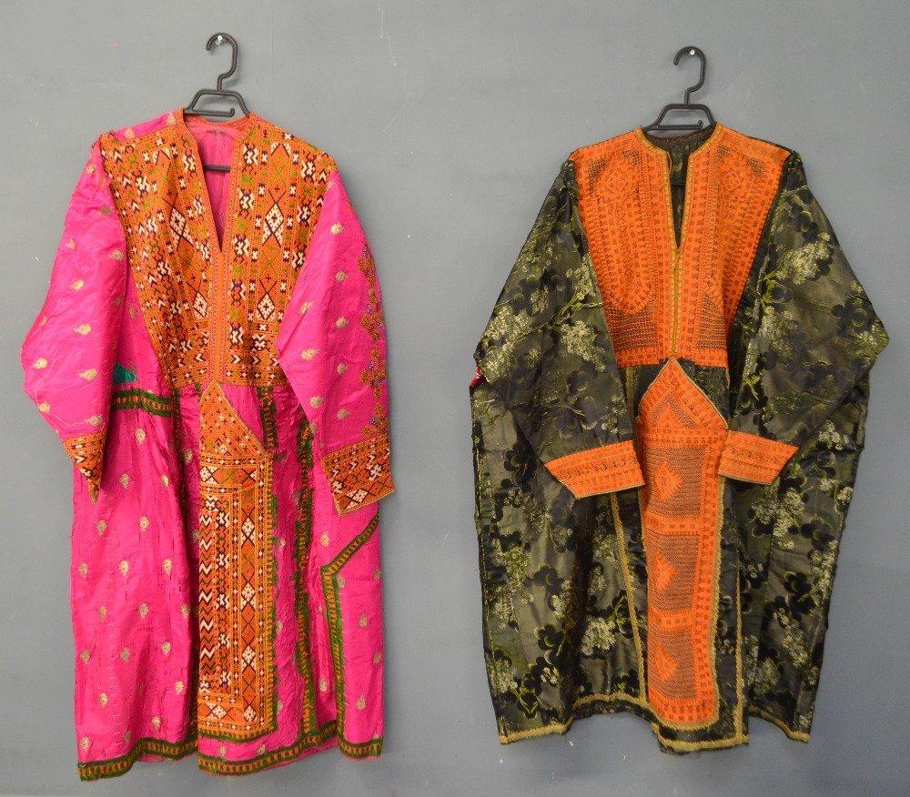 Baluchistan 19th C, Pushk Kurta,  a womens robe of