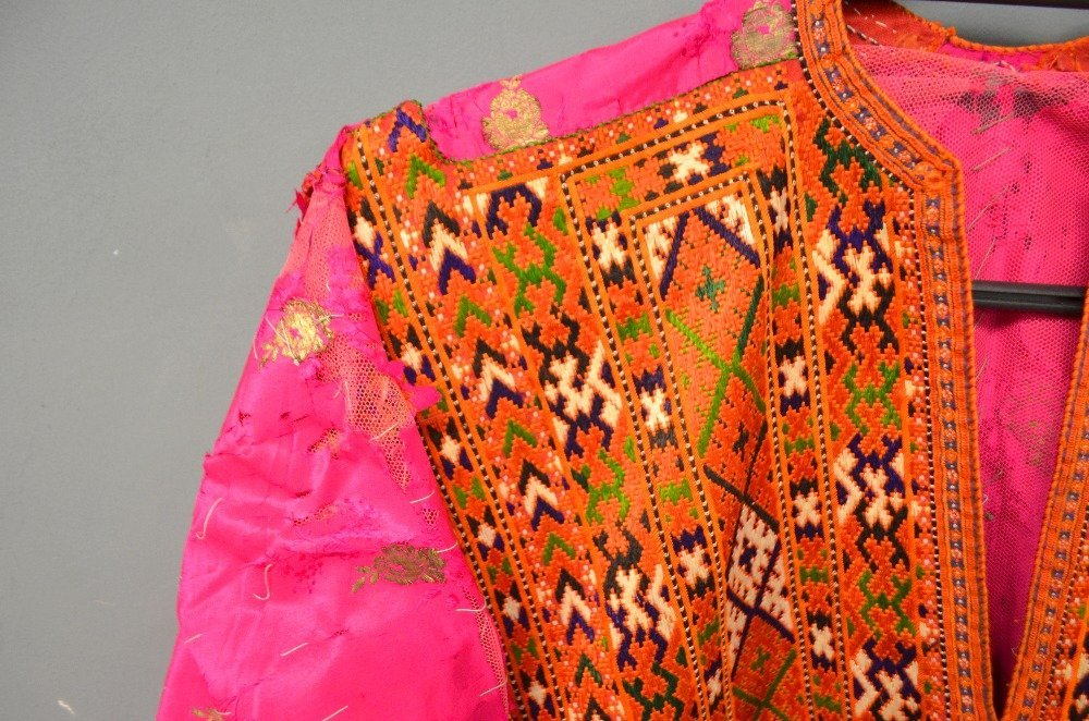 Baluchistan 19th C, Pushk Kurta,  a womens robe of - 2