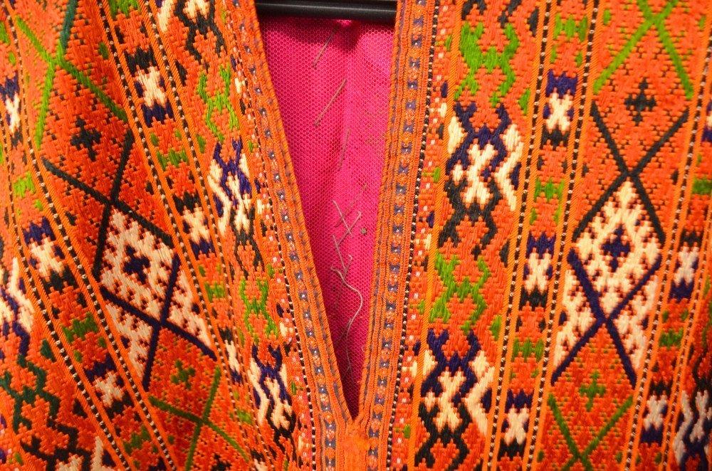 Baluchistan 19th C, Pushk Kurta,  a womens robe of - 3