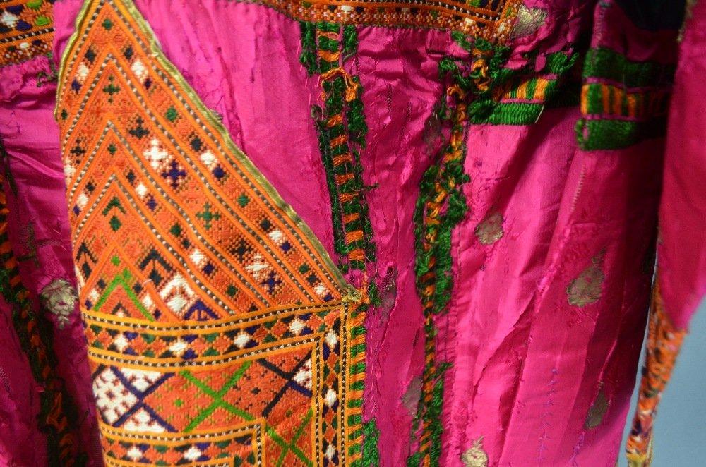 Baluchistan 19th C, Pushk Kurta,  a womens robe of - 4