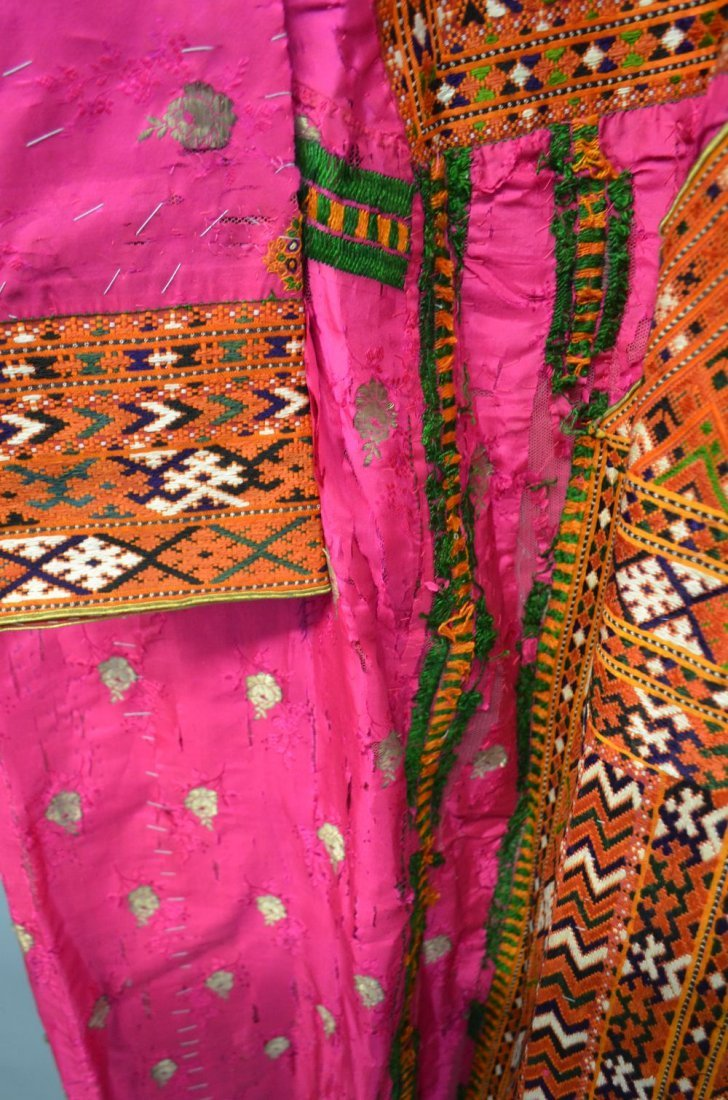 Baluchistan 19th C, Pushk Kurta,  a womens robe of - 5