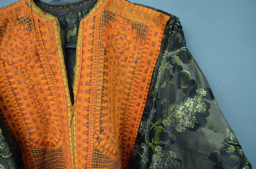Baluchistan 19th C, Pushk Kurta,  a womens robe of - 6