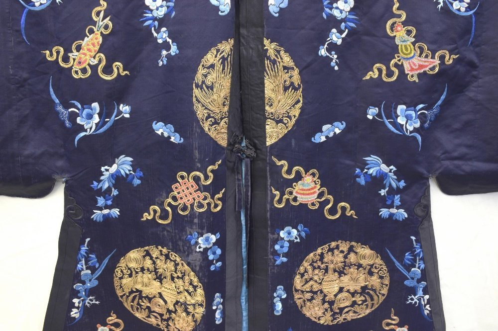 Chinese Qing dynasty Jifu surcoat with Buddhist - 2