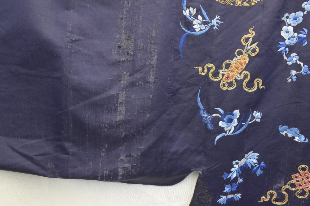Chinese Qing dynasty Jifu surcoat with Buddhist - 3
