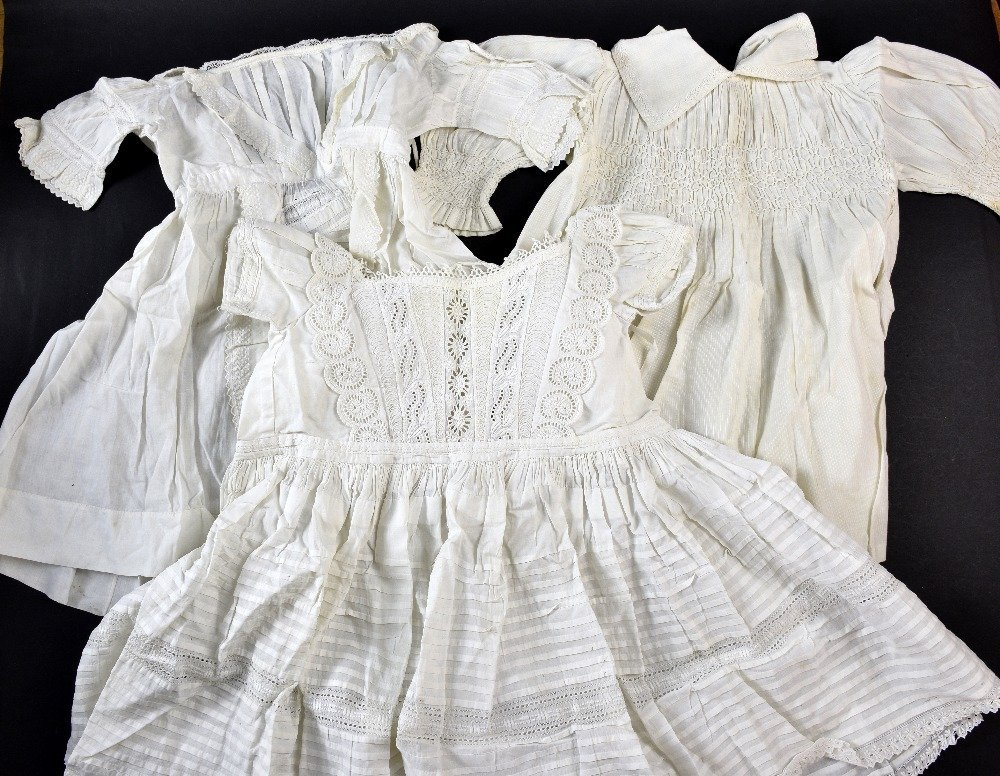 Collection of whitework including  Victorian Girls