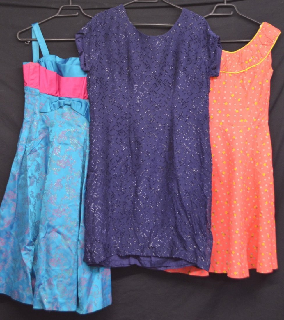 Six dresses various dates and makers, - 2
