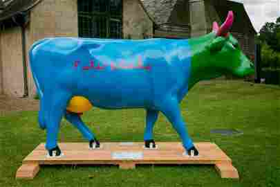 � Daisy - colourful Daisy is painted and signed by the