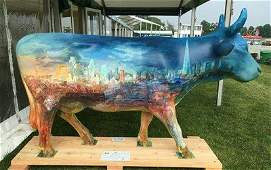 � Frontier Cow - Frontier Cow was hand painted by