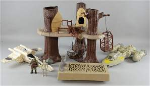 Star Wars Toys including Ewok Village XWing YWing