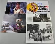 British Comedy Autographs: Five signed publicity
