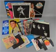 200+ Vinyl LPs & Singles including Elvis Presley