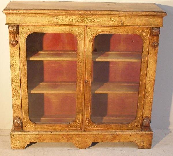 7: parquetry inlaid cabinet