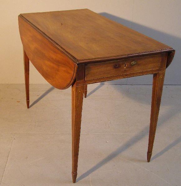 11: Georgian IIpembroke table