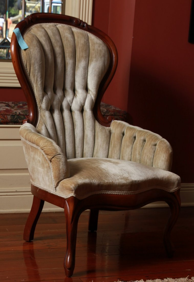 Antique Mahogany Armchair Mint Condition