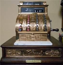 Antique Cash Register - The National Cash Register Co.