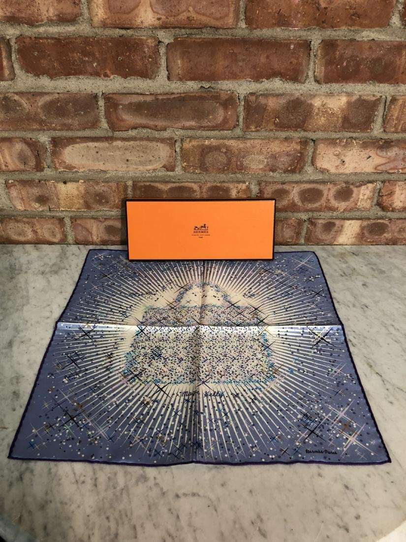 "Hermes ""Magic Kelly"" Scarf w/ Original Box"